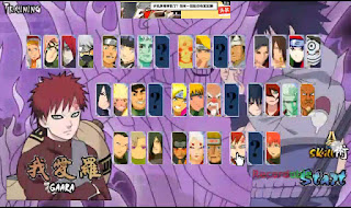Naruto Senki Ultimate Ninja Storm Revolution By Diki