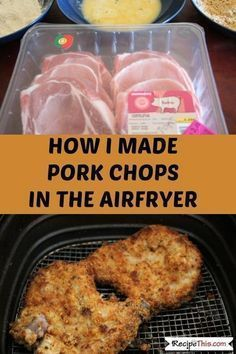 Breaded Air Fryer Pork Chops