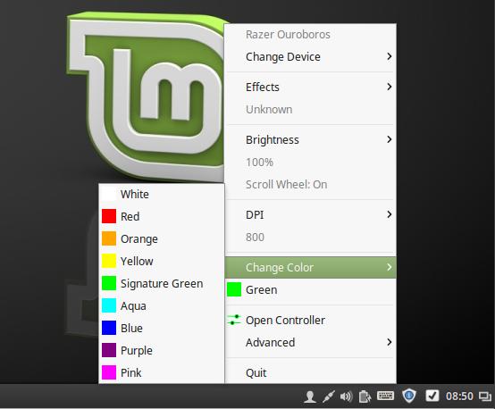 Razer Peripherals Configuration GUI Polychromatic 0 3 8 Released