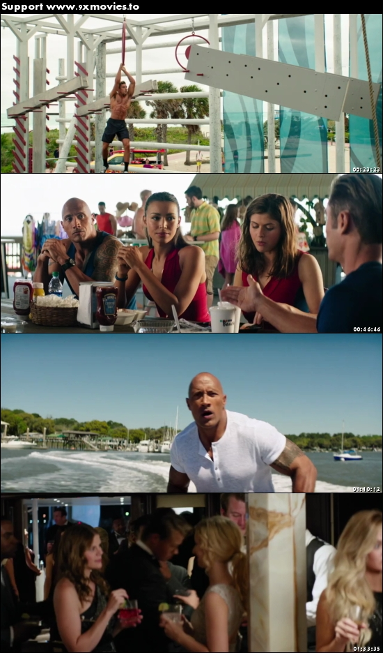 Baywatch 2017 Dual Audio Hindi 480p HDRip 350MB