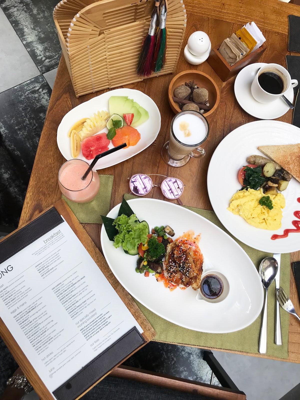 The Santai - Gong Restaurant Breakfast