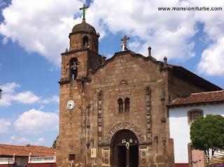 Church of Our Lady of Nativity in Cuanajo, Michoacán