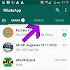Cara menghapus status Whatsapp terbaru