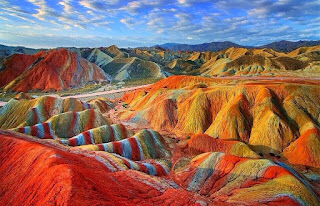 gunung rainbow