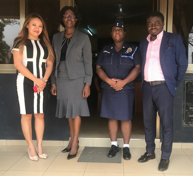 U-ton Engineering Ghana Supports Kotobabi District Police Command