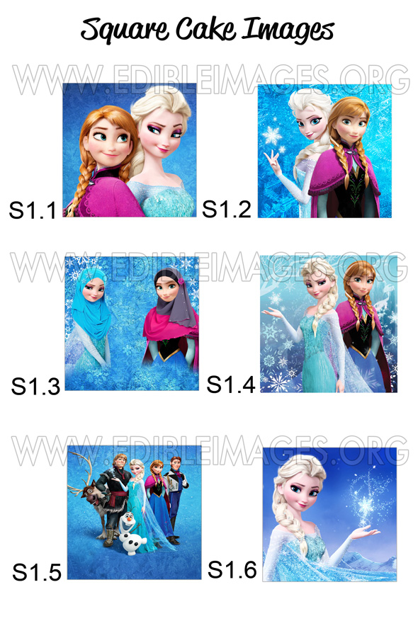 Edible Image Disney Frozen