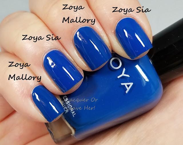 Zoya Mallory vs. Zoya Sia