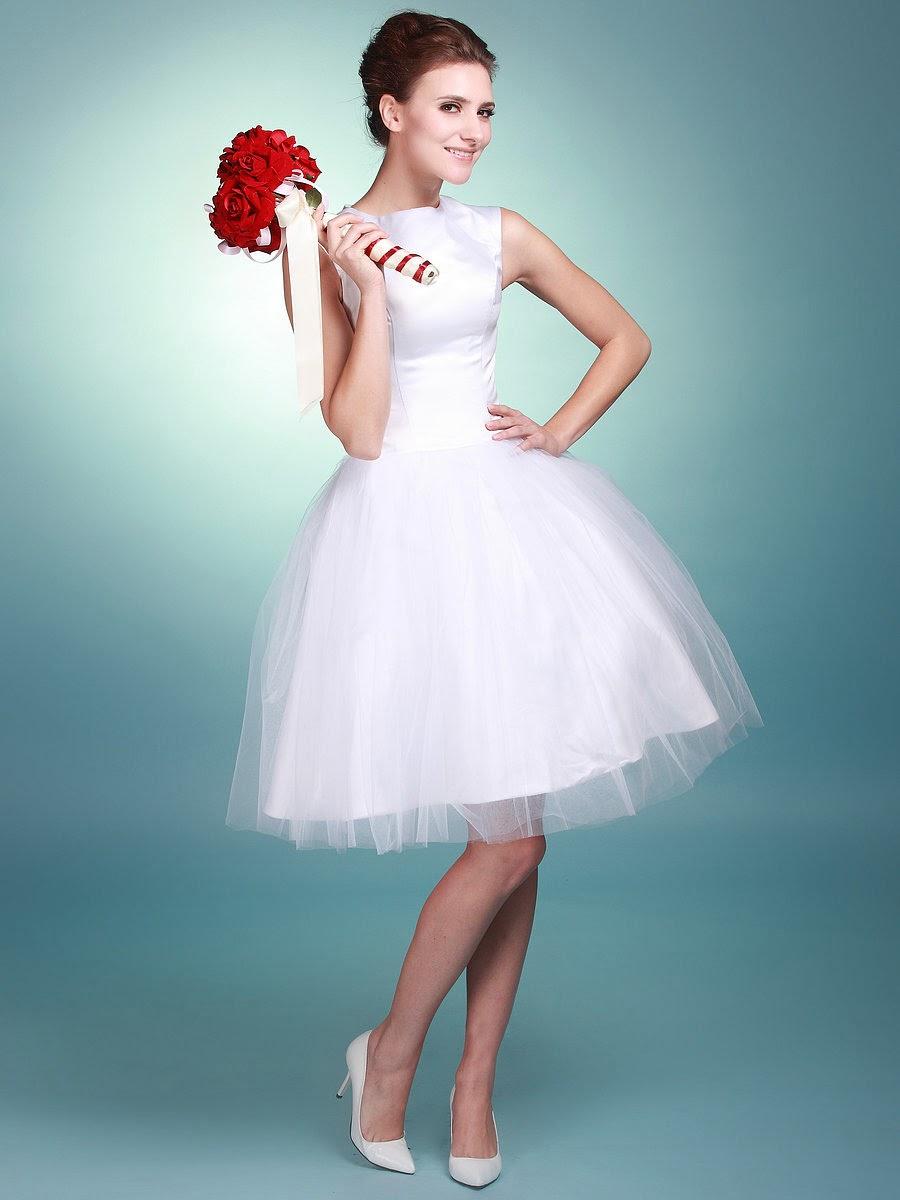 20 increíbles vestidos de novia cortos | Vestidos | Moda 2018 - 2019