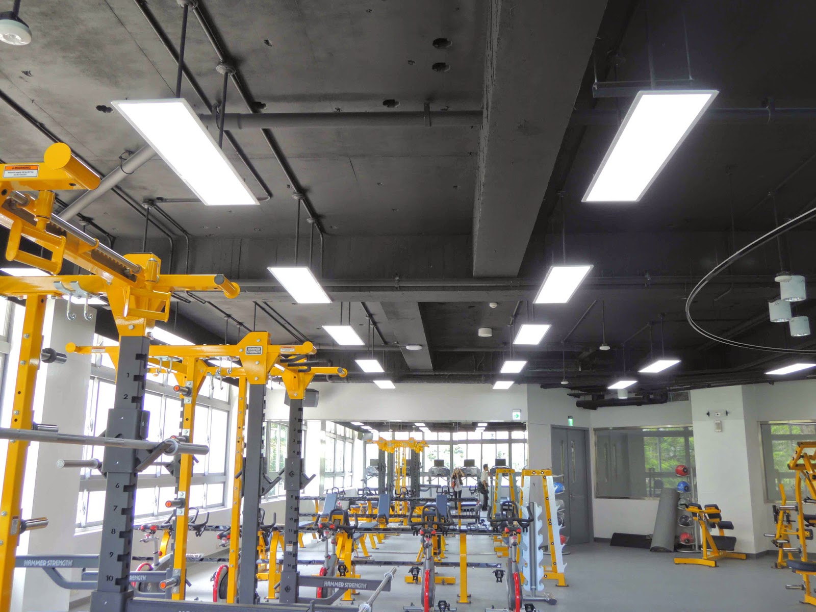 BintekLEDcom LED flat panel lighting application with