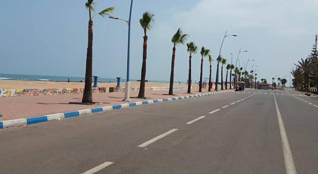سيدي رحال الشاطئ الواجهة البحرية لإقليم برشيد