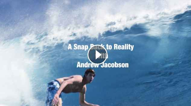A Snap Back to Reality with Andrew Jacobson