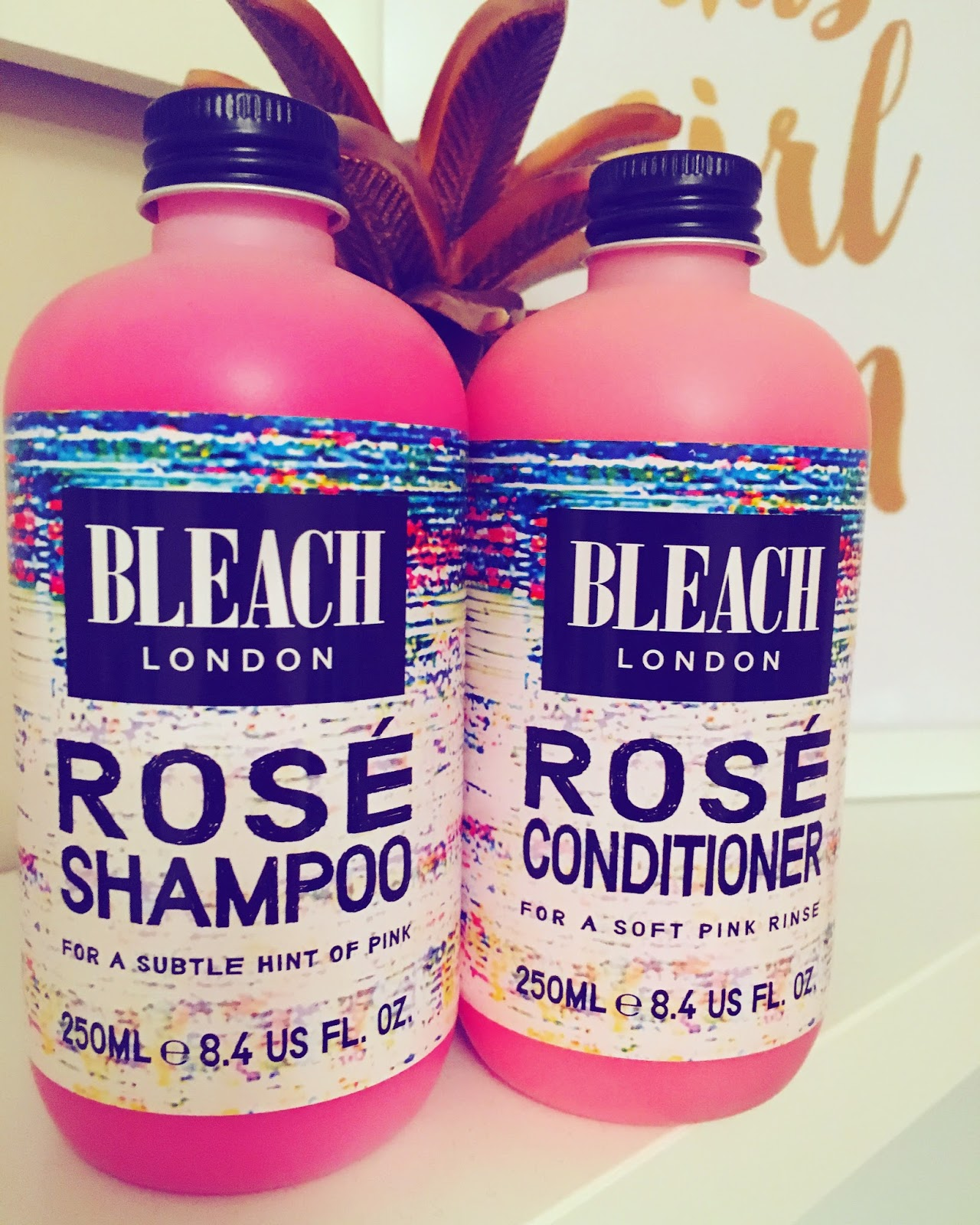 Review Bleach London Rose Shampoo And Conditioner