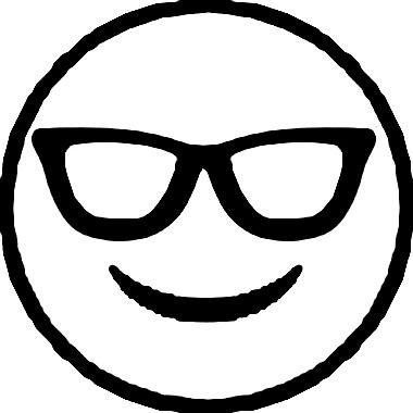 40 Desenhos De Emoji Emoticons Ou Smileys Para Colorir