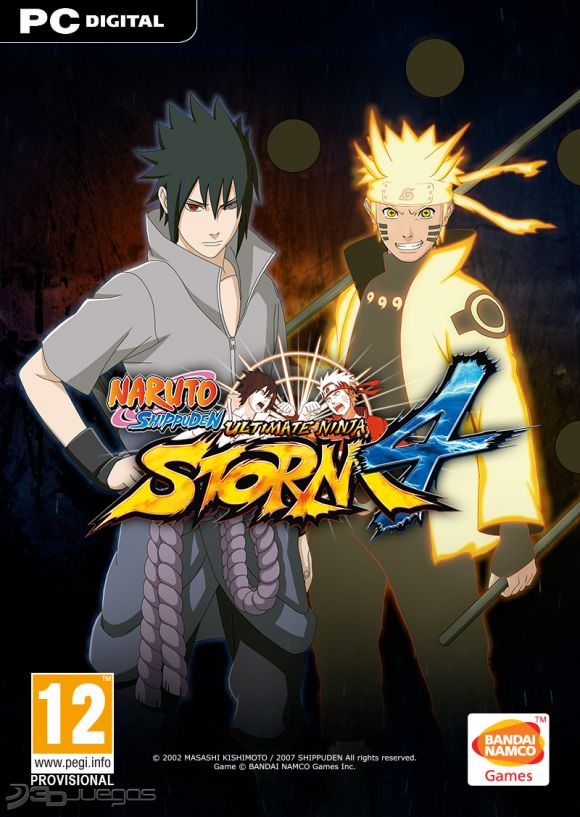 NS: Ultimate Ninja Storm 4 Pc Full Español
