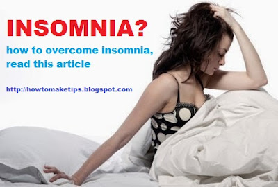 Tips How to Overcome Insomnia