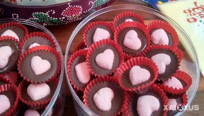 Resep cara membuat permen coklat