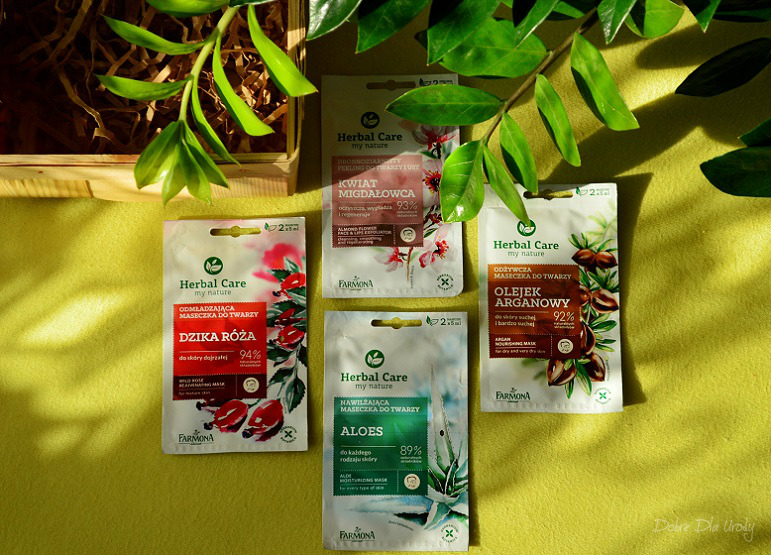 Maseczki i peeling do twarzy Herbal Care Laboratorium Farmona