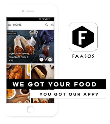 Faasos app for online food order