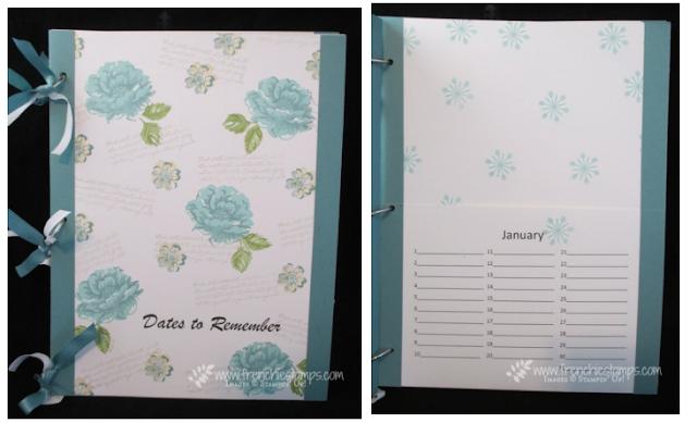 Portfolio Card Keeper, Frenchie Stamps, PDF tutorial