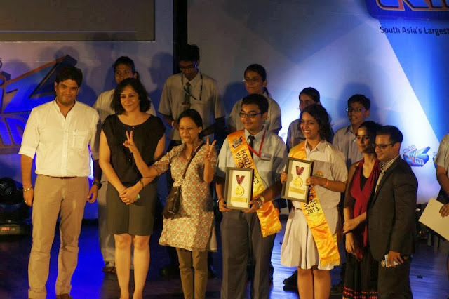 naina Dargan horlicks wiz kids award