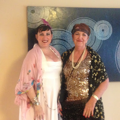 Bridget Eileen and mum in plus size 20s Style Costumes