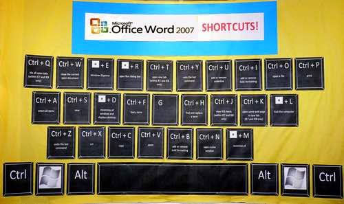 Microsoft Word 2007 Keyboard Shortcut Keys MCQ Questions With Answers Set 3