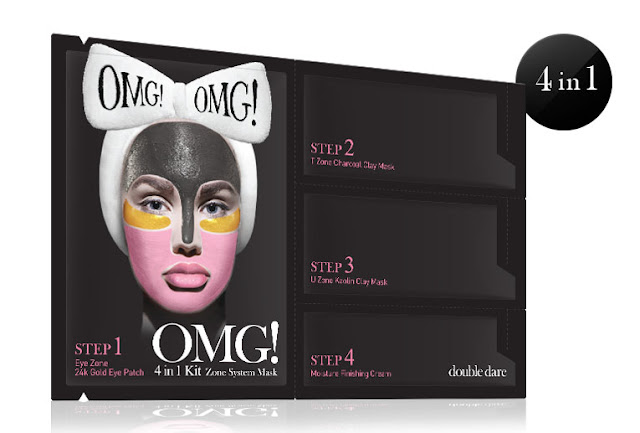 4 In 1 Kit Zone Mask Review By Barbies Beauty Bits