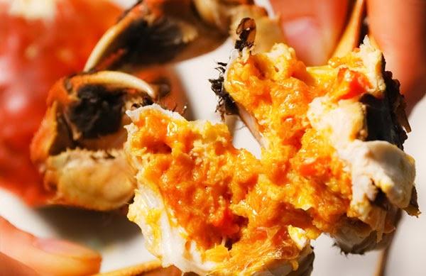 Good Life ai人生: 蟹螯即金液。糟丘是蓬萊 ~ 大啖肥美大閘蟹