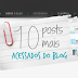 Top 10 posts mais acessados do blog