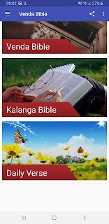 Bible (Venda), BIVHILI KHETHWA Mafhungo Madifha