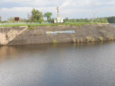 Wisata danau air gegas sukakarya Musi rawas
