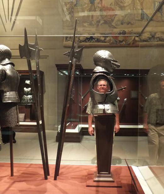 Armor Court Cleveland Museum Art
