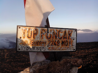 Volunteer Gunung Guntur Jawa Barat