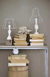 Decoração de Ambientes com Livros