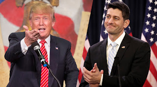 Pro-life President-elect Donald Trump and pro-life Speaker of the House, Paul Ryan (R-Wi.). Getty image.