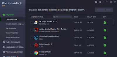 iobit UninstaLLer 8 Lisans Kod Pro License Code