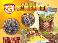Pupuk Karet Supernasa Granule - Pupuk Organik Paling Hemat di Dunia