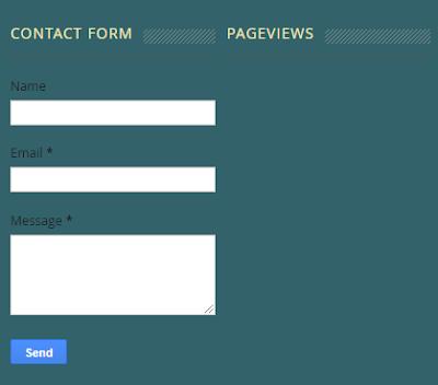 Cara Membuat Formulir Kontak Pada  Blog Untuk Pemula