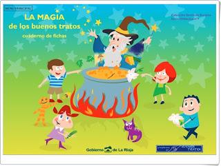 """""""La Magia de los buenos tratos"""" (Cuaderno de Educación Emocional e Identidad personal)"""
