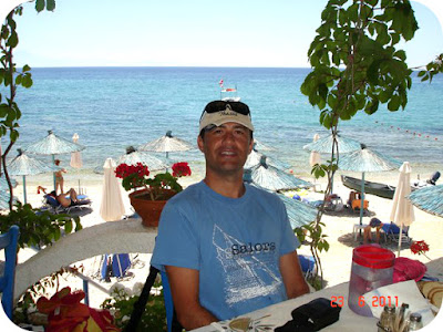 Taverna pe plaja Pefkari