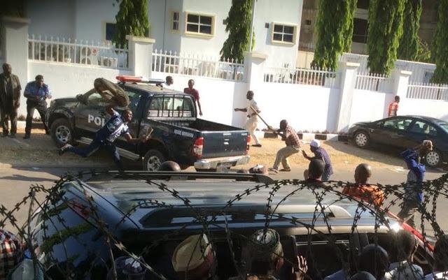 protest apc secretariat audu abubakar