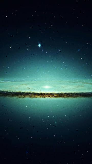Hình nền 3D bầu trời đêm đẹp cho iPhone 7 Plus