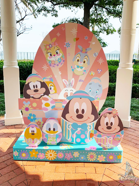 香港迪士尼樂園度假區 2020年春季主題拍照佈置, Hong Kong Disneyland Resort's 2020 Springtime themed Photo Spot