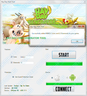 Hay Day Tool