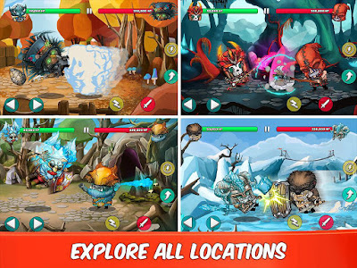 Tiny Gladiators Mod Apk v1.1.7 Unlimited Money Gems
