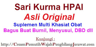 ASLI Sari Kurma Hpai Health Dates Suplemen Khasiat Herbal