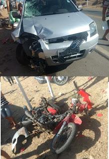 Homem tem perna decepada e morre após grave acidente na saída de Acari sentido Currais Novos