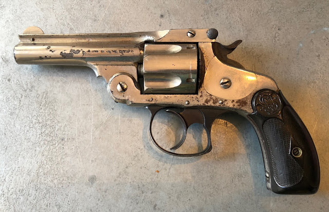 Am. Ex. Co. Smith and Wesson S&W DA .38