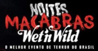 Atrações Noites Macabras 2018 Wet'n Wild Ingressos