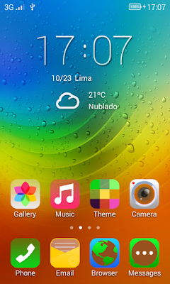 Lenovo Theme itz For Vivo